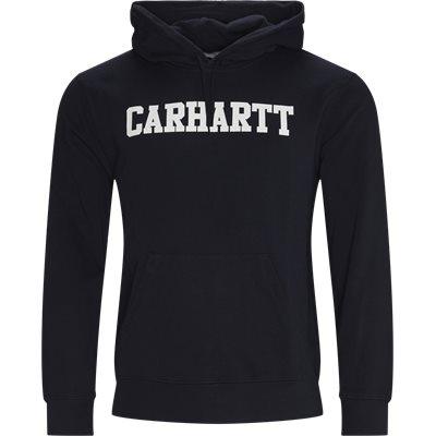 Hooded College Swetahsirt Regular fit | Hooded College Swetahsirt | Blå